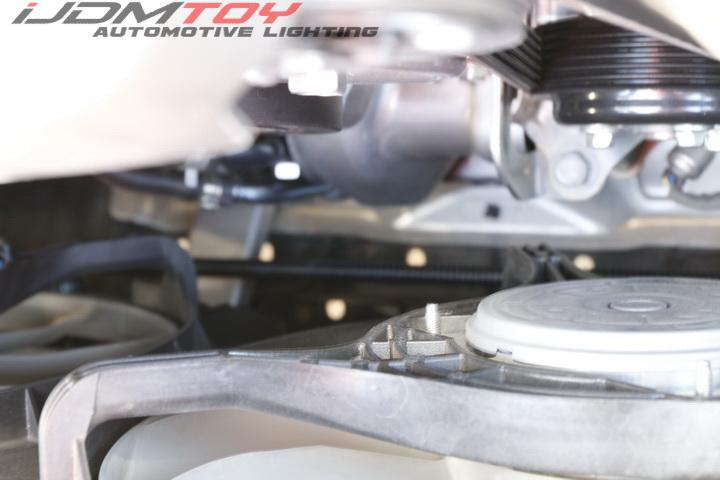 Install Subaru WRX STi Switchback LED Daytime Running Light Foglight Bezel