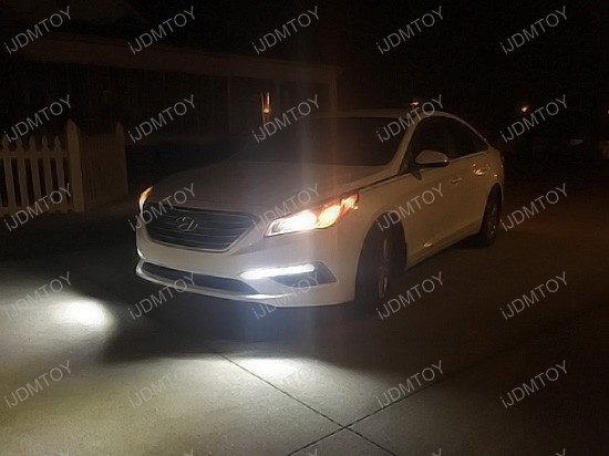 2015 2016 2017 Hyundai Sonata SE LED Daytime Running Lights