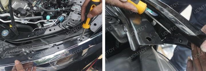 2016-up Honda Civic Switchback LED Eyelid DRL Installation