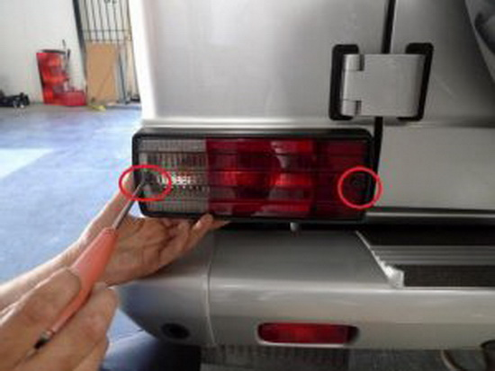 Mercedes-Benz LED Turn Signal Tail Light