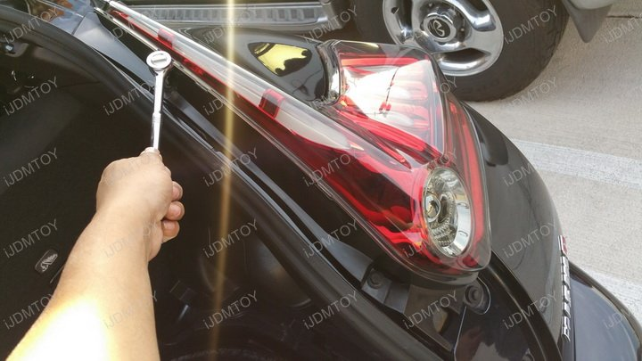 Nissan Juke Rogue Murano 3 in 1 LED Rear Fog Light Lamp