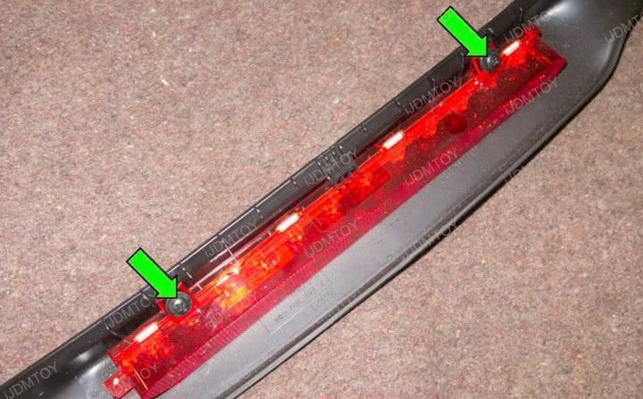 Black Chrome Lens Brilliant Red LED 3rd Brake Light Lamp for Mini Cooper