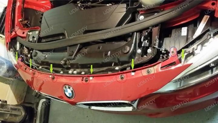 BMW F30 F31 F34 3 Series RGBW Angel Eyes Halo Rings Marker Bulbs