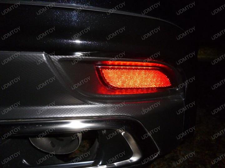 Subaru LED Reflectors Install 01