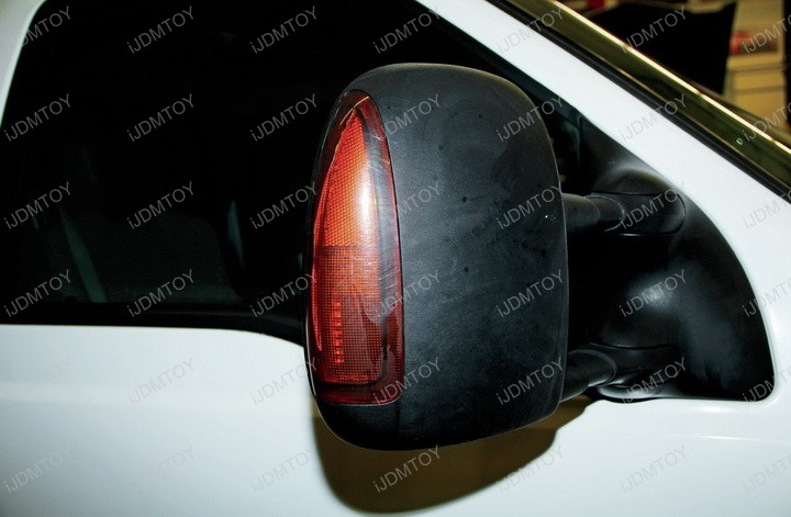 Ford F  Super Duty Excursion Led Side Marker Mirror Light Lamp