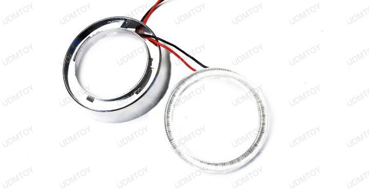 Retrofit LED Angel Eyes Halo Rings Xenon White Brilliant Red Ultra Blue