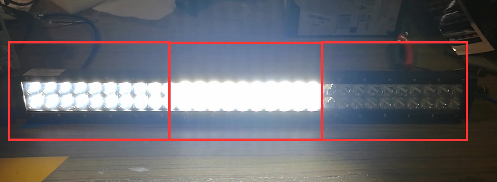 Why LED Light Bar Doesn't Fully Light Up