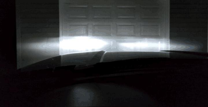 High Power Philips Luxeon LED Headlight Bulbs Alignment Fix