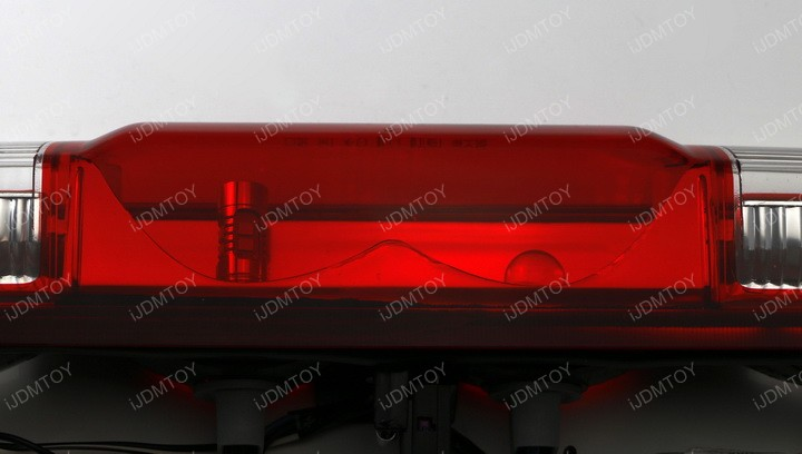 Strobe/Flashing Feature Red 10-SMD 921 912 LED Replacement Bulb