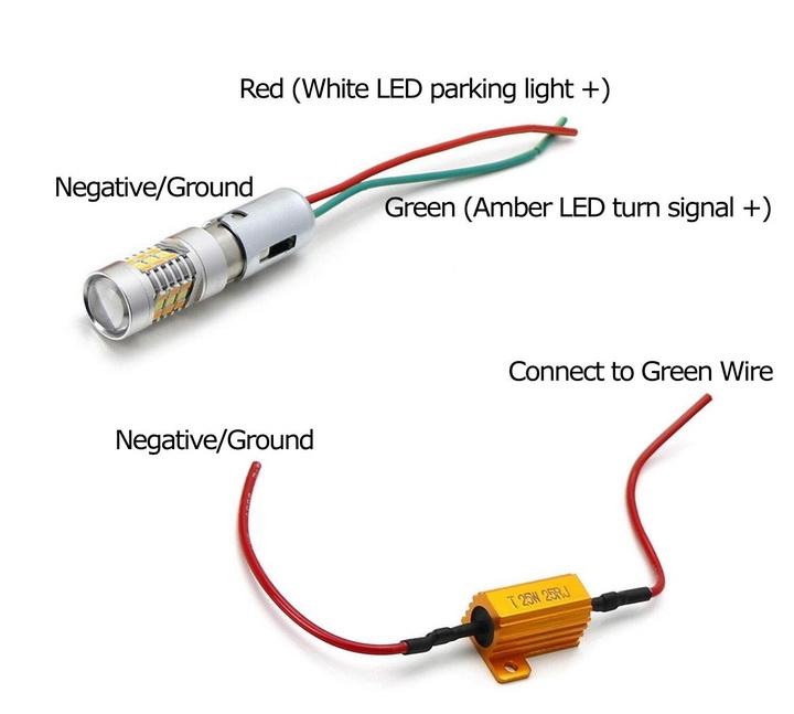 How to Wire Switchback LED Lighting Conversion Kit on Suzuki Hayabusa GSX1300R