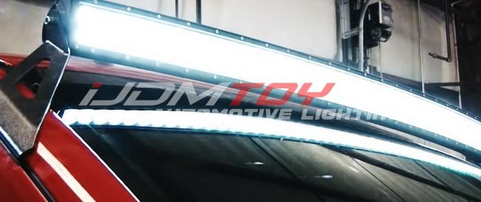 General LED Light Bar Installation