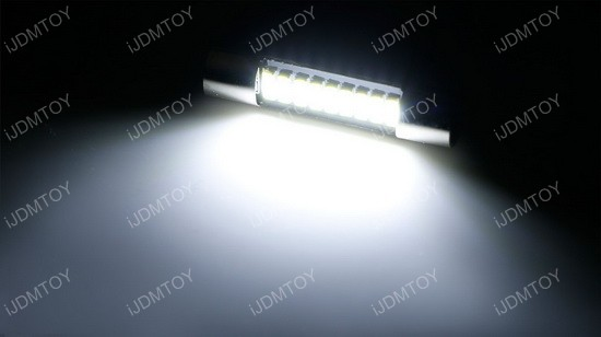 9-SMD 29mm 6614 LED Replacement Bulbs