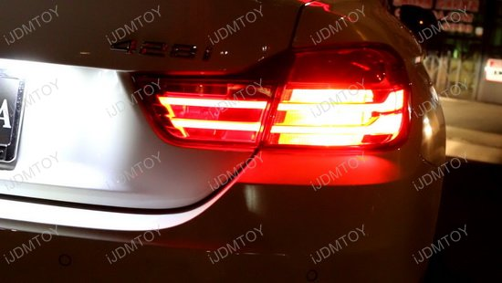 error free led bulbs for bmw f30 backup reverse lights. Black Bedroom Furniture Sets. Home Design Ideas