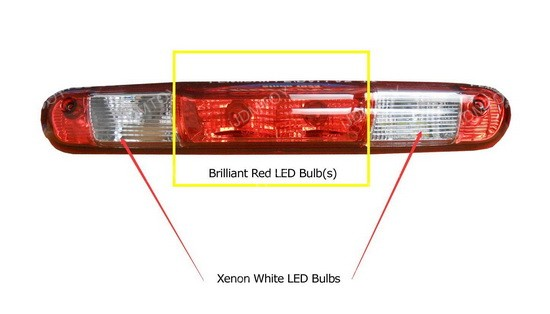 LED Replacement Bulbs Truck 3rd Brake Lamp