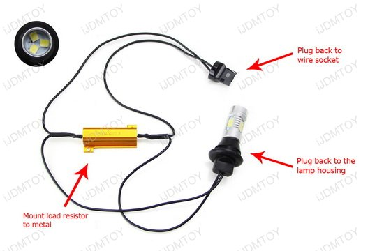 Chevy Camaro LED Backup Light