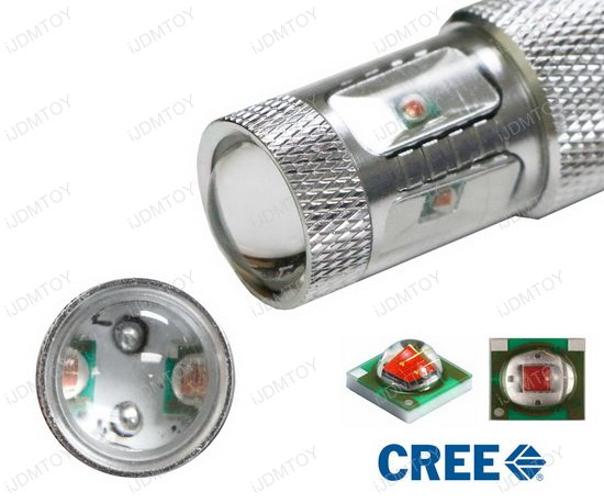 30W CREE High Power 7440 LED Turn Signal Light Bulbs, No Additional Resistors Required