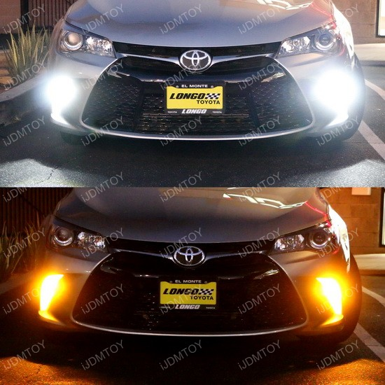 Camry LED Daytime Running Light Bulb 38 2015 up toyota camry as daytime running lights and turn signals  at fashall.co