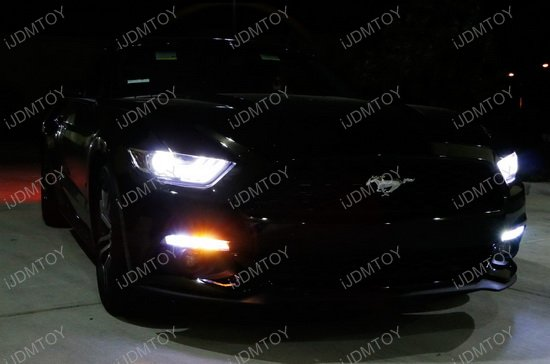 2015-up Ford Mustang LED Daytime Running Light Kit