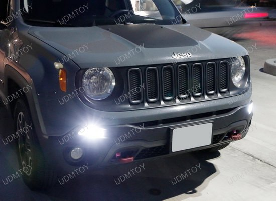 Jeep Regegade LED DRL Bulbs