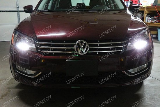 VW Passat LED DRL Bulbs