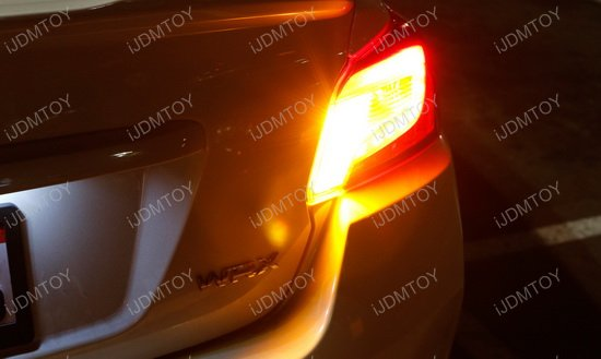 No Resistor Required LED Turn Signal Bulbs
