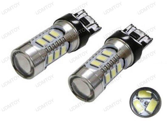 iJDMTOY 15-SMD LED Bulbs For Turn Signal Lights, Daytime Running Lights, Backup Reverse Lights, Tail Brake Lights