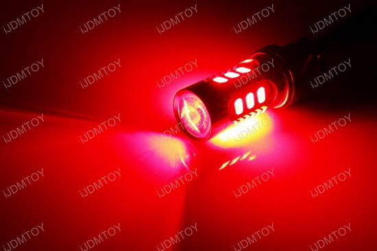 iJDMTOY 15-SMD LED Bulbs For Turn Signal Lights, Daytime Running Lights, Backup Reverse Lights, Tail Brake Lights