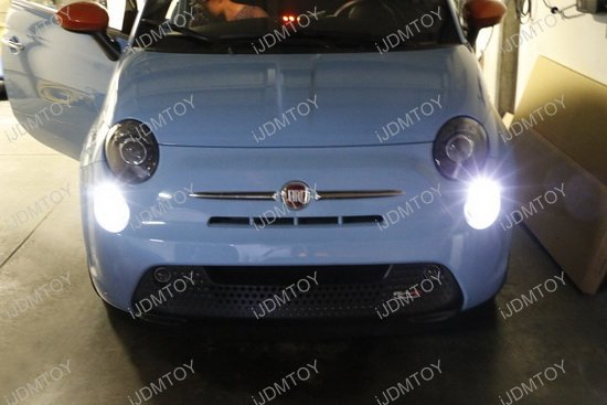 FIAT 500 LED Daytime Running Light Bulbs