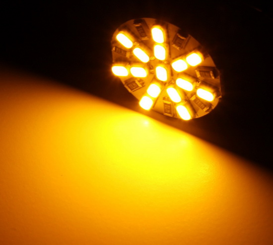 Amber 7440 LED Bulbs