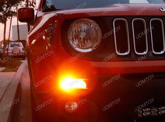 jeep renegade led drl  turn signal lights w  no hyper flash