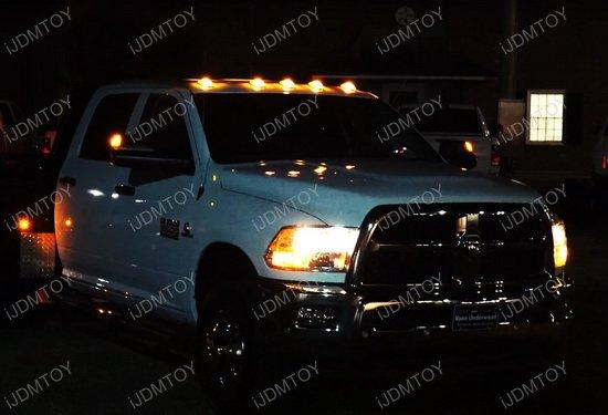 Truck Cab Roof LED Marker Lights