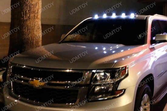 5 Pieces Roof Cab Marker Running Led Lights For Truck Suv