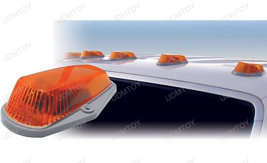 Truck Roof Top Amber Cab Marker Lights