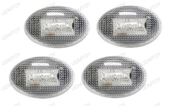 Amber Red Ford LED Fender Side Marker Lights