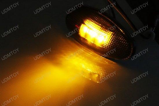 Amber Red Truck LED Fender Side Marker Lights