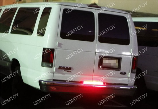 Red LED Brake Tail Light Bar
