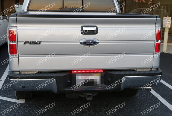 Trunk Tailgate Red Led Light Bar For Tail Brake Light