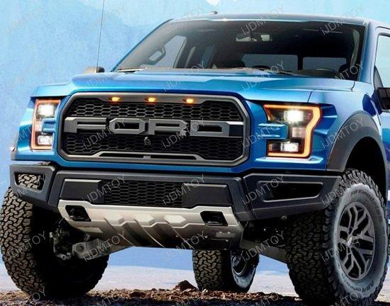 Ford Svt Raptor Style Grille Led Lights For Truck Suv