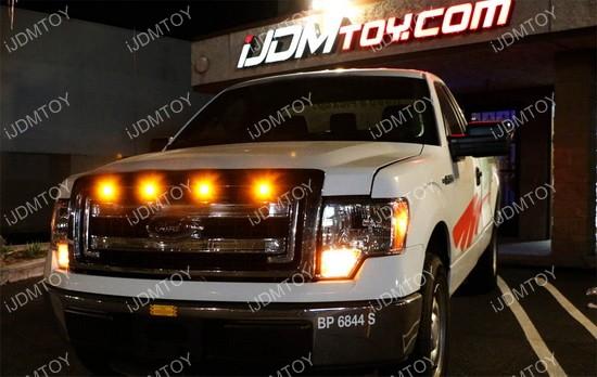 Ford Raptor Style Grille Or Side Marker Led Lights For