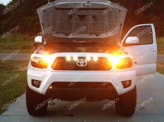 Ford Raptor Style LED Center Grille Side Marker Lighting Kit