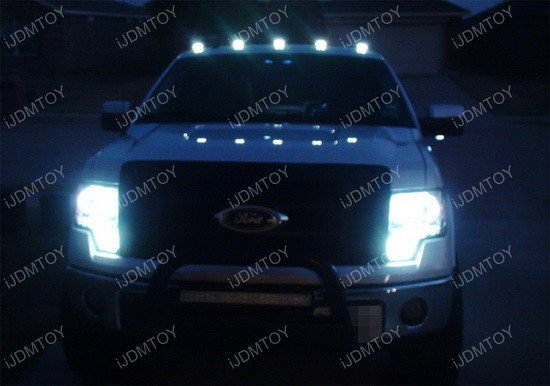 Truck Roof Top LED Cab Marker Running Lights