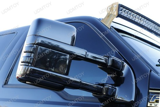 Ford F250 Switchback LED Side Marker Lights