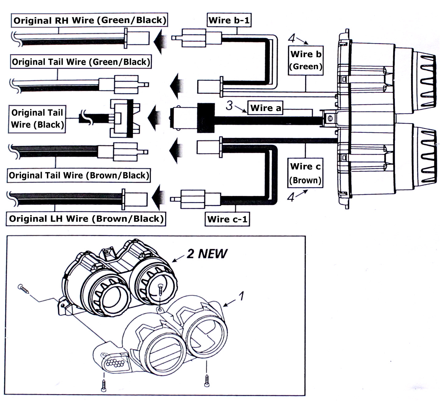 Ducati Led Tail Light Wiring Diagram Not Lossing 12v Stop Images Gallery