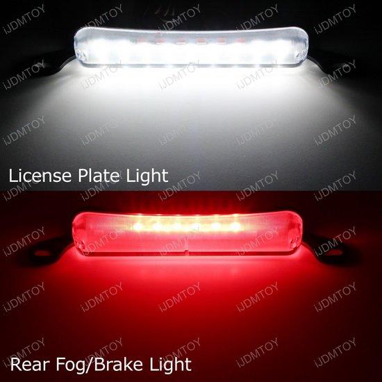 Bolt-On LED license plate lights