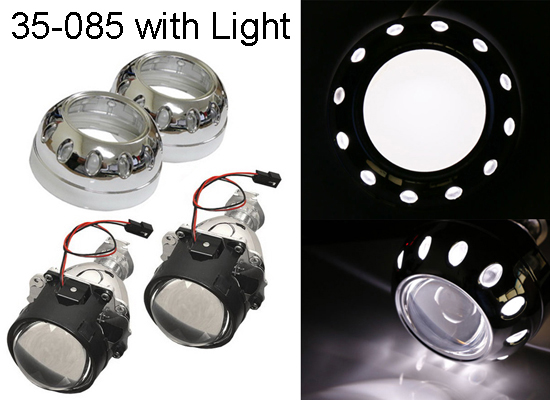 MINI Bi-xenon HID Projector Retrofit Headlights