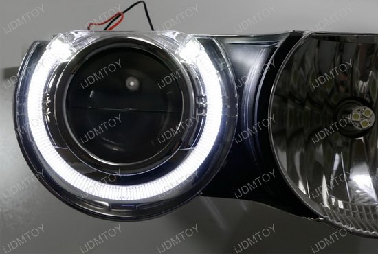 3.0 Bi-Xenon Projector Lens with S-MAX LED halo ring shroud