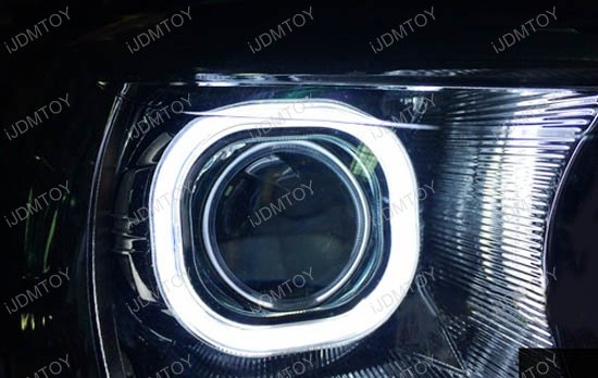 COB Square Halo Projector Lens