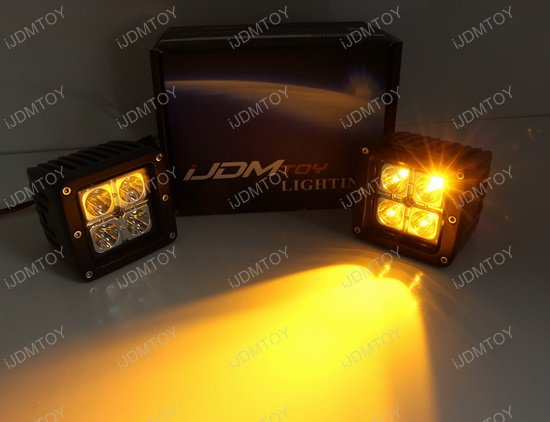 Amber LED Pod Light