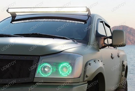 480W 50-Inch LED Light Bar