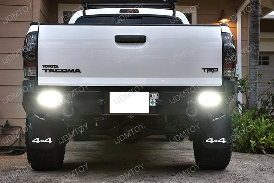 Flush Mount 10w Cree Led Backup Or Driving Pod Lights For